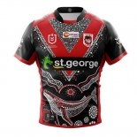 Maillot St George Illawarra Dragons Rugby 2019 Heroe