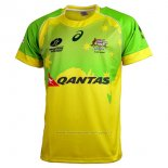 Maillot Australie Rugby 2016 Domicile