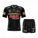 Maillot Enfant Kits Penrith Panthers Rugby 2021 Domicile