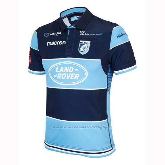 Maillot Cardiff Blues Rugby 2018-19 Domicile
