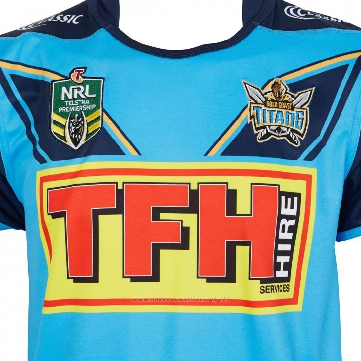 Maillot Gold Coast Titan Rugby 2018 Domicile