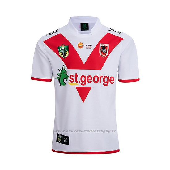 Maillot St George Illawarra Dragons Rugby 2018-19 Domicile