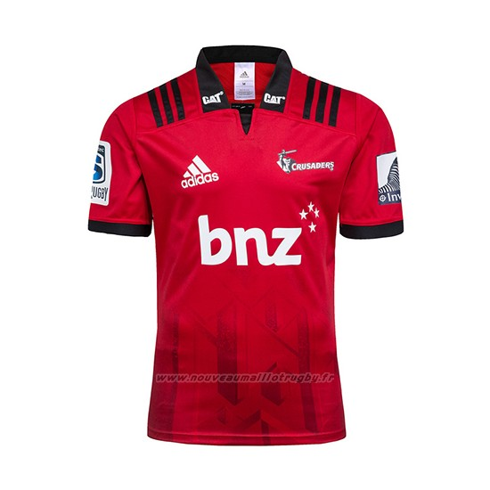 Maillot Crusaders Rugby 2018 Domicile Rouge